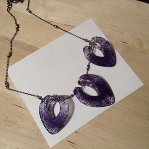 Jewelry - Color by Amber Purple Cocoon Necklace